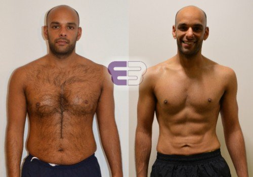 Billy – lost 10% body fat - Embody Fitness in London