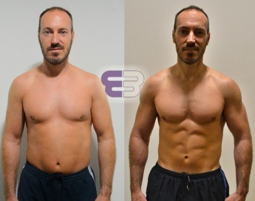 Darren went from 16.5% to 9% body fat in 8 weeks - Embody Fitness in London