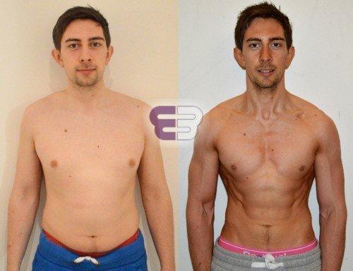Matt – 22% to 5.3% body fat in 12 weeks - Embody Fitness - London's leading Personal Training Studio