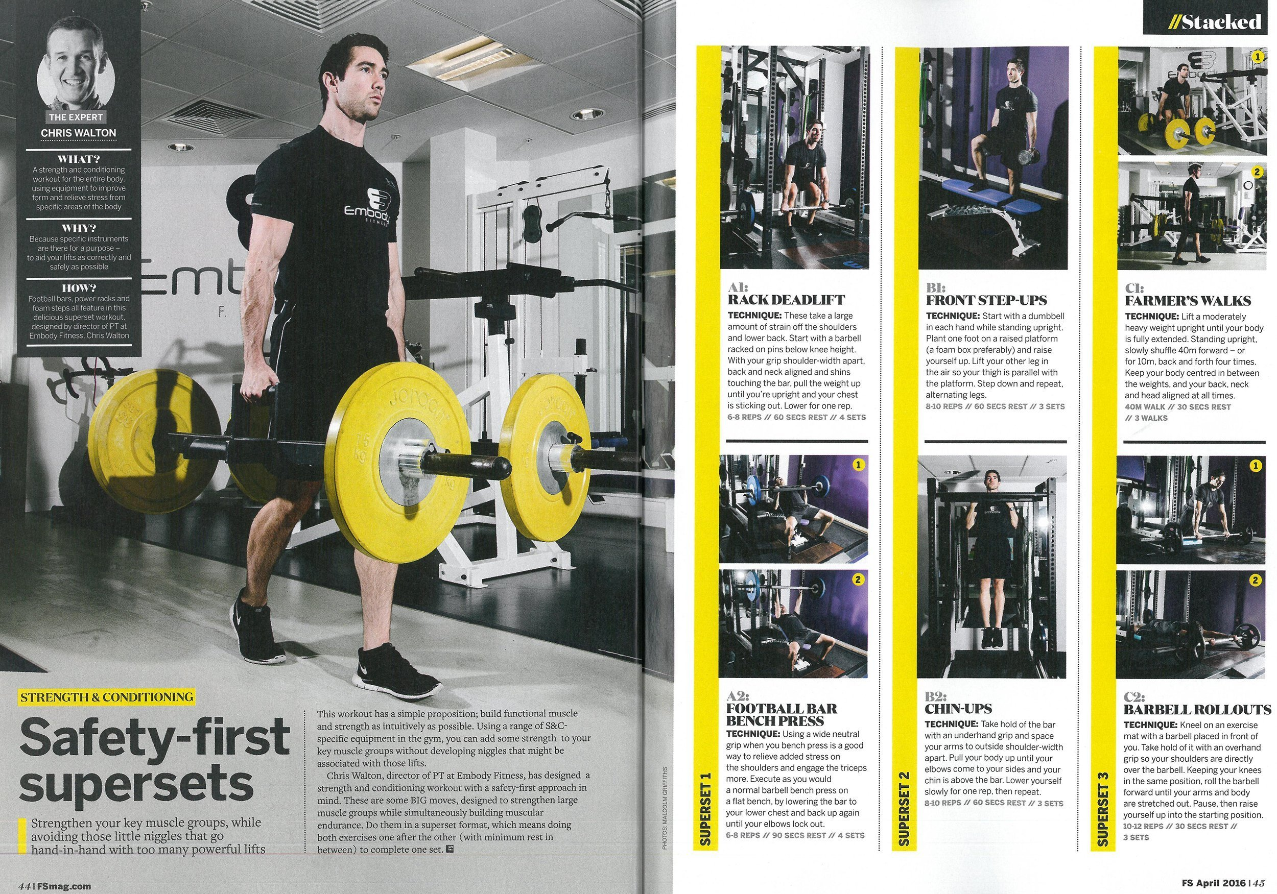 Forever-Sports---April-issue-EMBODY-FITNESS-PERSONAL-TRAINING-LONDON